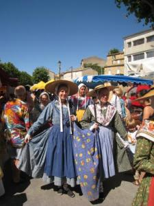 parade during the festival of lavender