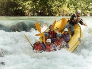 Rafting on the Giffre