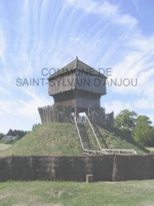 The motte of Saint-Sylvain-d'Anjou