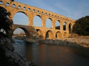 The Pont du Gard, a marvel of antiquity