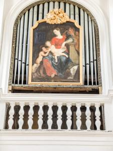 Organ of the church of Verzy (© J.E)