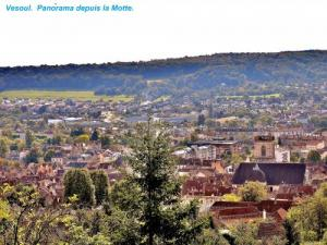 Panorama Northeast, from Motte ( © Jean Espirat )