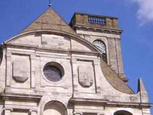 the Church of St. George in Vesoul