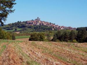 Panorama Vézelay (© JE)
