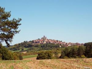 Panorama on Vézelay (© JE)