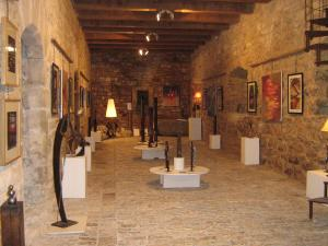 Salle d'expositions temporaires