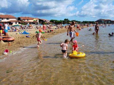 Plage Du Lac Marin Port D Albert Lieu De Loisirs A Vieux Boucau