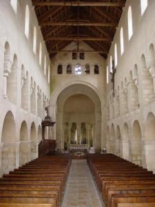 Nave of the Church Vignory