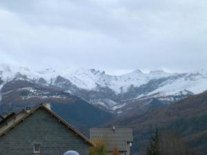 First snow in Villars