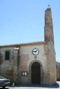 church Entrance and bell tower