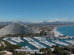 Marina Baie des Anges and harbor