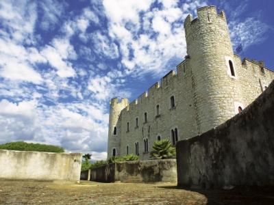 Castle Of Villeneuve Loubet Monument In Villeneuve Loubet