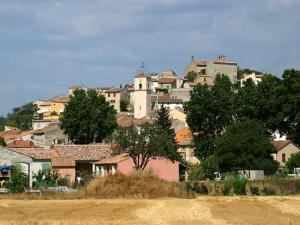Vinon-sur-Verdon and clock tower