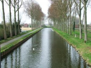 The channel to the Deûle