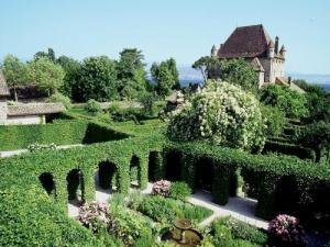 Yvoire gu a turismo y vacaciones for Jardin de los sentidos
