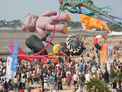 Le Festival de cerfs-volants et du vent - Évènement à Châtelaillon-Plage