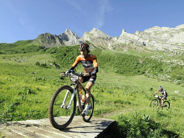 Mountainbikerennen Roc des Alpes - Ereignis in La Clusaz