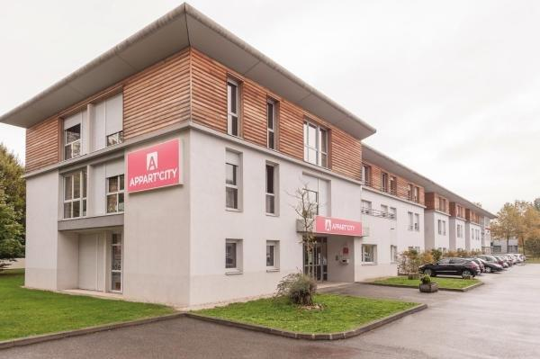 Appart'City Bourg en Bresse - Holiday & weekend hotel in Bourg-en-Bresse