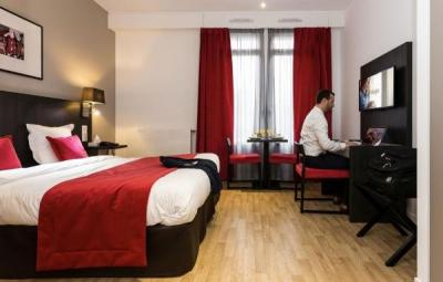 Appart 39 h tel odalys paris montmartre h tel paris for Appart hotel paris 7