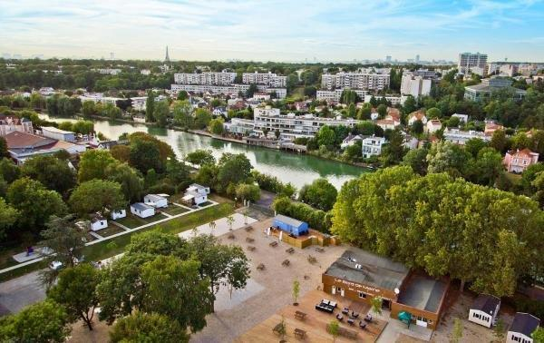 Camping Paris-Est - Holiday & weekend hotel in Champigny-sur-Marne