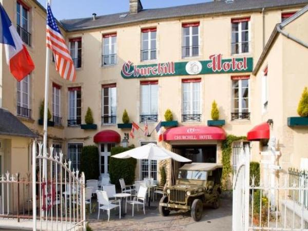Churchill Hotel - Hotel vakantie & weekend in Bayeux