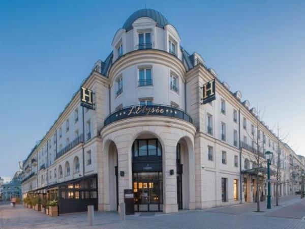 l 39 elys e val d 39 europe at disneyland paris hotel in serris. Black Bedroom Furniture Sets. Home Design Ideas
