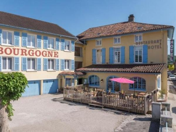 Hotel Le Bourgogne - Holiday & weekend hotel in Cuiseaux