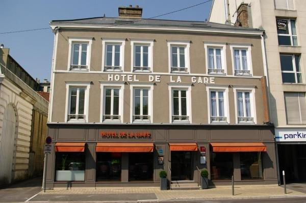Hotel de la gare troyes centre hotel in troyes for Hotels troyes