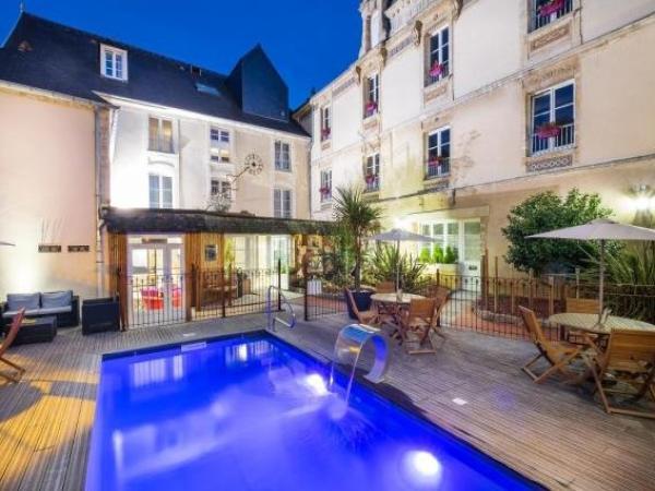 Hotel Du Luxembourg Et Restaurant Les 4 Saisons Bayeux France