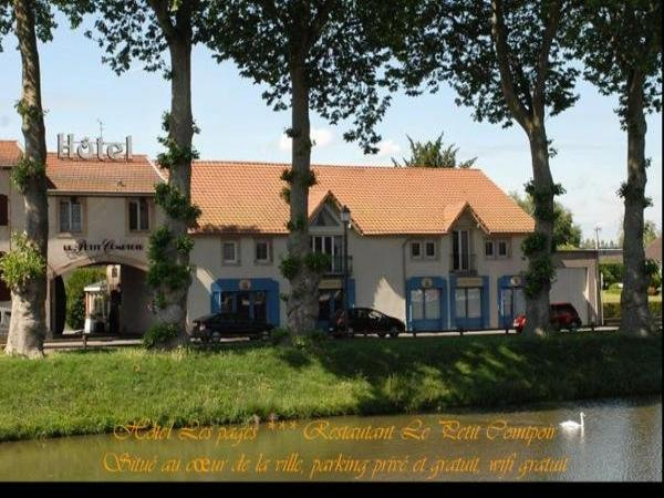 Hôtel Les Pages - Holiday & weekend hotel in Lunéville