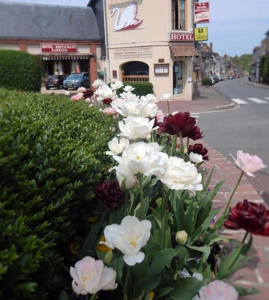 Hotel Restaurant Le Cygne - Hotel vakantie & weekend in Conches-en-Ouche