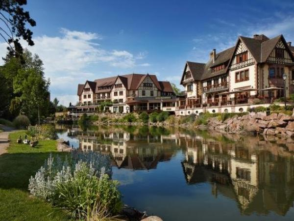Hotel Spa Restaurant Domaine du Moulin - 假期及周末酒店在Ensisheim