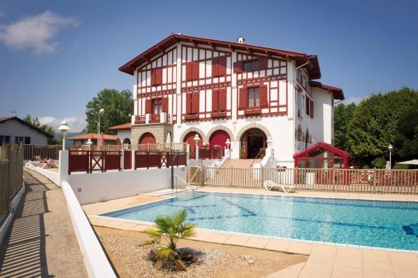 H tel vacances bleues orho tza hotel en hendaye for Vacances bleues erdeven