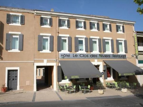 Logis Hotel Le Clos Des Oliviers - Hotel vakantie & weekend in Bourg-Saint-Andéol