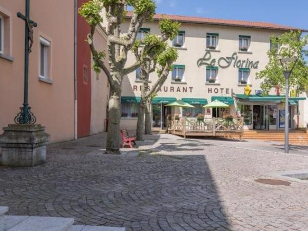 Logis Hôtel le Florina - Holiday & weekend hotel in Sainte-Florine