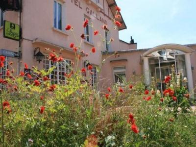 Logis hotel galland hotel in lapalisse for Logis de france vichy