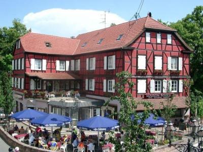 Barr tourism holidays weekends for Restaurant la maison rouge colmar
