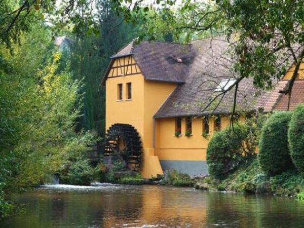 Le moulin de la walk hotel en wissembourg for Hotels wissembourg