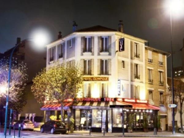 L\'Olympique - Hotel in La Garenne-Colombes