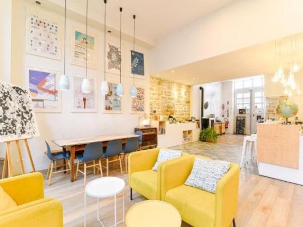 slo living hostel h tel lyon. Black Bedroom Furniture Sets. Home Design Ideas