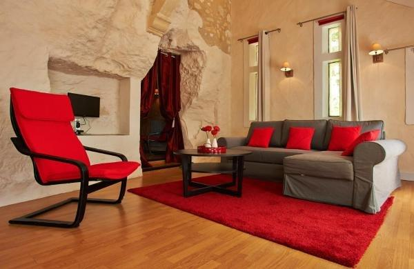 troglododo h tel azay le rideau. Black Bedroom Furniture Sets. Home Design Ideas