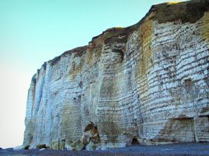Alabaster coast - Cliff in the Pays de caux area