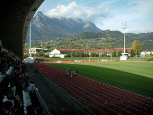 Albertville - Stands and Olympic stadium