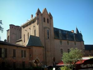Albi - Berbie palace (former episcopal palace) home to the Toulouse-Lautrec museum