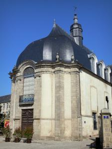 Alençon - Old Jesuit church home to the library