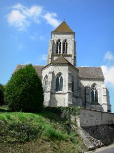 Allemant church - Saint-Remi church of Flamboyant Gothic style