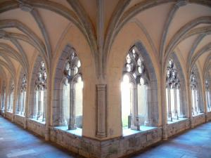 Ambronay abbey - Former Benedictine abbey (Cultural centre): galleries of the Gothic cloister