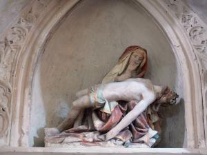 Ambronay abbey - Former Benedictine abbey (Cultural centre): Inside the abbey church: Pieta