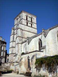 Angoulême - Saint-André church and its bell tower