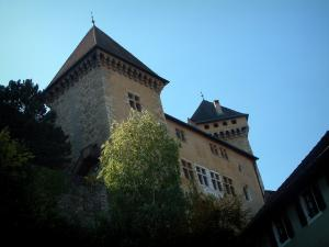 Annecy - Museum-castle (former residence of the comtes of Genève and the dukes of Genevois-Nemours)